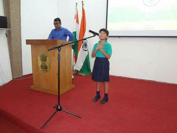 essay on inter school singing competition