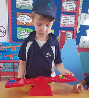 PYP Numeracy Integration - Weight Measurements - Year 1
