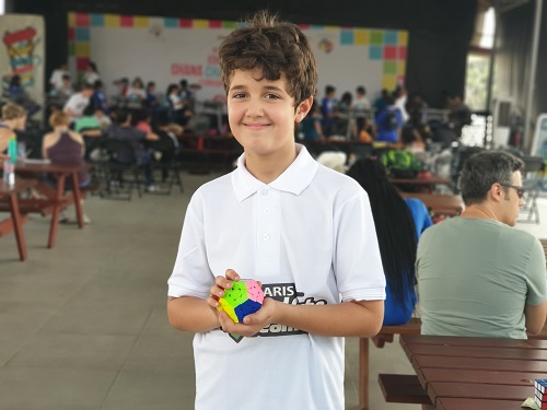 Malek Hamoui Breaks Records at the Ghana Cube Championship 2020