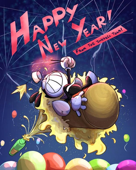 Happy New Year from the Inkwell Team!